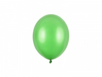 Strong Balloons 12cm, Metallic Bright Green (1 pkt / 100 pc.)