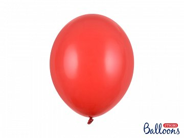 Balony Strong 30cm, Pastel Poppy Red (1 op. / 10 szt.)