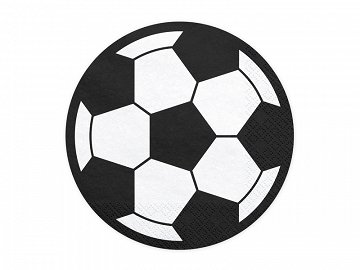 Napkins Football, 13.5cm (1 pkt / 20 pc.)