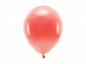 Eco Balloons 26cm pastel, coral (1 pkt / 10 pc.)