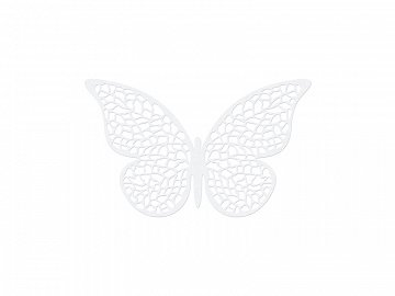 Paper Decorations Butterfly, 6.5 x 4cm (1 ctn / 50 pkt) (1 pkt / 10 pc.)