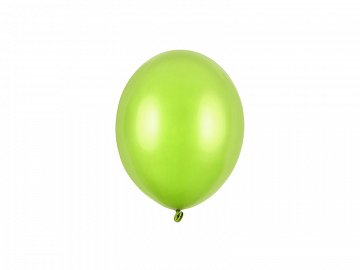 Strong Balloons 12cm, Metallic Lime Green (1 pkt / 100 pc.)