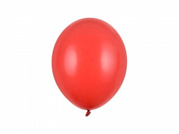 Strong Balloons 27cm, Pastel Poppy Red (1 pkt / 100 pc.)