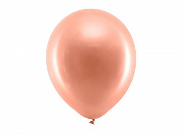 Rainbow Balloons 30cm matellic, rose gold (1 pkt / 100 pc.)