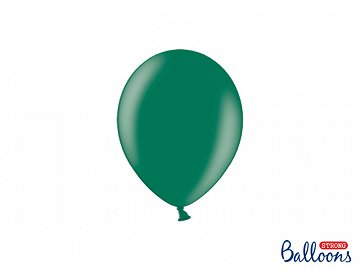 Balony Strong 12cm, Metallic Bottle Green (1 op. / 100 szt.)