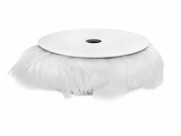 Wired feathers 10 m, white