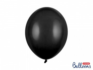 Strong Balloons 30cm, Pastel Black (1 pkt / 10 pc.)