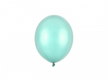 Strong Balloons 12cm, Metallic Mint Green (1 pkt / 100 pc.)
