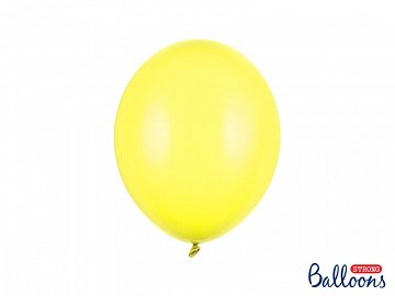 Strong Balloons 27cm, Pastel Lemon Zest (1 pkt / 10 pc.)