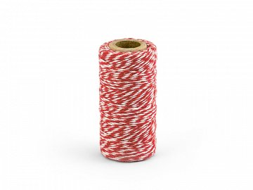 Baker's Twine, red, 50m (1 pc. / 50 lm)