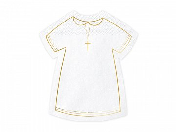 Napkins Communion Alb, 14x16cm (1 pkt / 20 pc.)