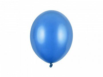 Balony Strong 27cm, Metallic Corn. Blue (1 op. / 100 szt.)