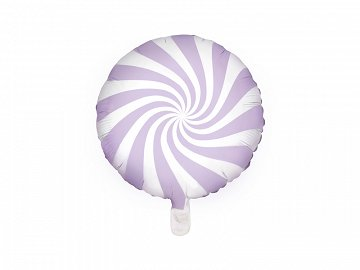 Foil Balloon Candy, 45cm, light lilac