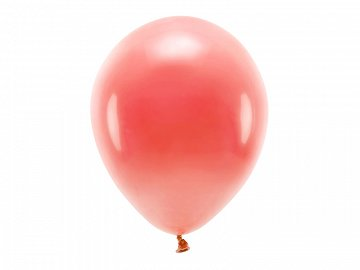 Eco Balloons 30cm pastel, coral (1 pkt / 100 pc.)