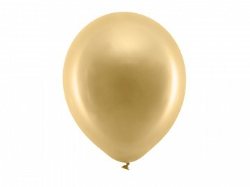 Rainbow Balloons 30cm metallic, gold (1 pkt / 100 pc.)