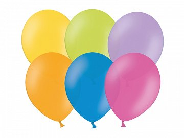 Celebration Balloons 23cm, mix (1 pkt / 100 pc.)
