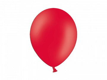 Balony 10'', Pastel Red (1 op. / 100 szt.)