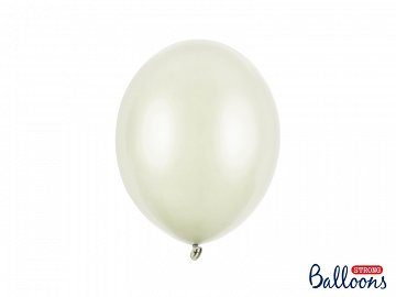 Balony Strong 27cm, Metallic Light Cream (1 op. / 10 szt.)
