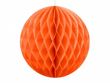 Honeycomb Ball, orange, 10cm