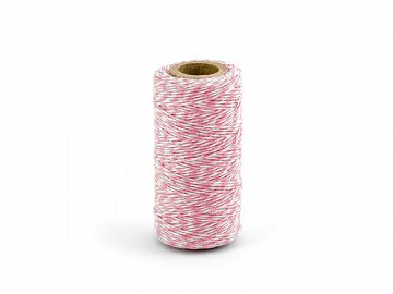 Baker's Twine, pink, 50m