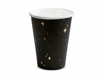 Cups, black, 260 ml (1 pkt / 6 pc.)