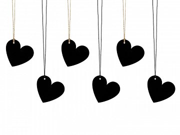 Gift tags Heart (1 pkt / 6 pc.)