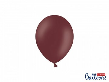Strong Balloons 12cm, Pastel Maroon (1 pkt / 100 pc.)