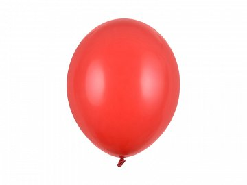 Strong Balloons 30cm, Pastel Poppy Red (1 pkt / 100 pc.)