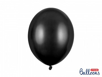 Balony Strong 30cm, Metallic Black (1 op. / 50 szt.)