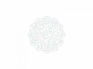 Paper Decorations Rosette, 4cm (1 pkt / 10 pc.)