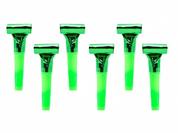 Whistles, green (1 pkt / 6 pc.)