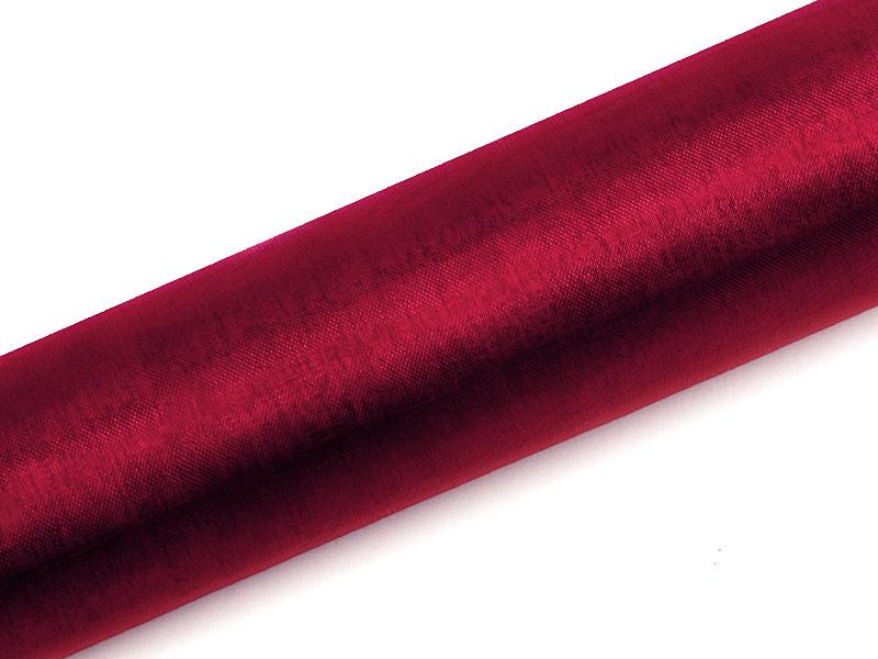 Organza červené víno 16cm 6ks