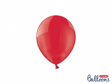Balony Strong 12cm, Crystal Poppy Red (1 op. / 100 szt.)