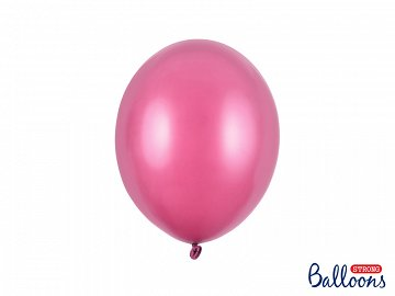Balony Strong 27cm, Metallic Hot Pink (1 op. / 50 szt.)