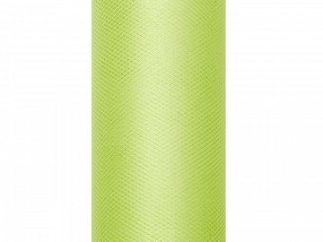 Tulle Plain, light green, 0.15 x 9m (1 pc. / 9 lm)