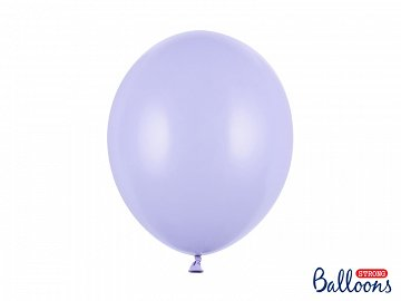Strong Balloons 30cm, Pastel Light Lilac   (1 pkt / 10 pc.)