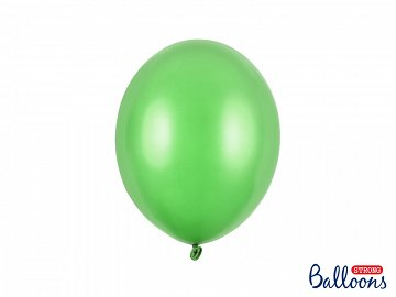 Balony Strong 27cm, Metallic Bright Green (1 op. / 10 szt.)