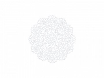 Paper Decorations Rosette, 5cm (1 pkt / 10 pc.)