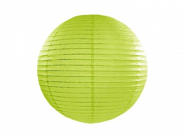Paper lantern, apple green, 20cm