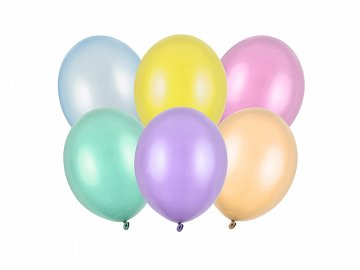 Strong Balloons 23cm, Pearly Mix (1 pkt / 100 pc.)
