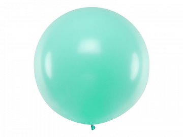 Balon okrągły 1m, Pastel Light Mint