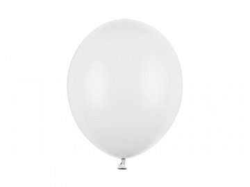 Balony Strong 30cm, Pastel Pure White (1 op. / 100 szt.)