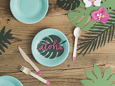Decorations Aloha - Tropical leaves, mix (1 pkt / 21 pc.)