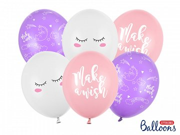 Balloons 30cm, Unicorn, mix (1 pkt / 6 pc.)