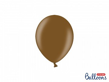 Strong Balloons 12cm, Metallic Chocolate Brown (1 pkt / 100 pc.)