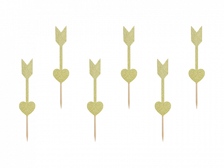Cupcake toppers Sweet Love - Arrows