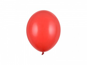 Balony Strong 23cm, Pastel Poppy Red (1 op. / 100 szt.)