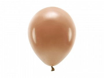 Eco Balloons 26cm pastel, chocolate brown (1 pkt / 10 pc.)