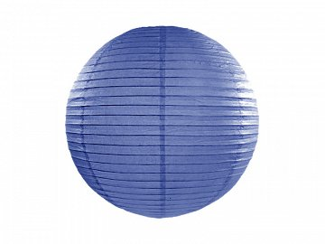 Paper lantern, royal blue, 20cm