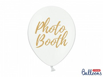Balloons 30cm, Photo Booth, Pastel Pure White (1 pkt / 50 pc.)